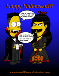 Bart and Jessica Halloween by broad86new