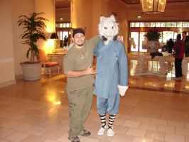 me with the furry tai chi guy by hawaiianstile
