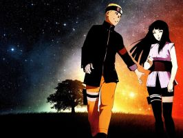 Naruto and Hinata The Last Wallpaper 4 by weissdrum