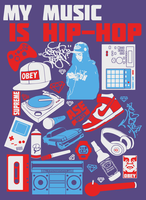 My Music Is Hip-Hop by MaxatdesigN
