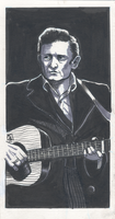 Johnny Cash by doctor-morbius