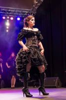 Fashion show My Oppa Steampunk Burlesque! by myoppa-creation