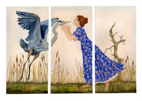 The Meeting Triptych by AnitaSR