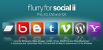 Flurry Icons for Social II by HeskinRadiophonic