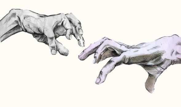 Hands by frickindamo