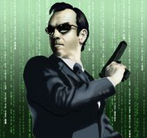 Agent Smith by Puckducker