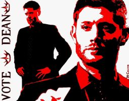 Vote Dean - the crowned King by JH-creator