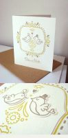 Wedding Card by enkana