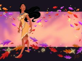 Pocahontas by racookie3