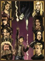 Harry Potter 7 color version by N8MA