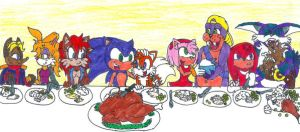 Sonic Thanksgiving by Code-E