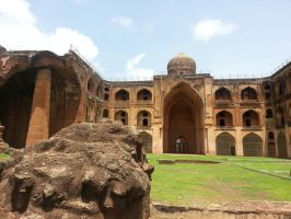 Bidar Madarsa by manojart