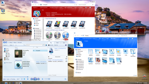 In Vitro Azure icon pack Windows 8 Desktop! by Fiazi