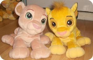 My Sweetheart Simba Nd Nala Plushes by DrOpDeAdShElLy