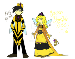 King and Queen revamped by MissBluebee