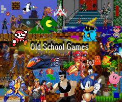 Old School Games by JediMichael
