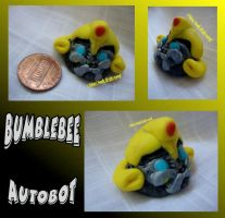 Bumblebee in Clay by CLPennelly