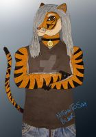 Me Anthro Tiger by NothinToSay