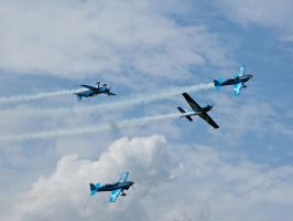 The Blades Display team by davepphotographer