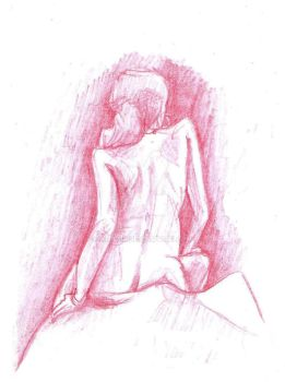 Figure Drawing workshop - Stacey 03 by Ambair