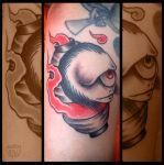 Tattoo: Chochinobake by EnricoGalli