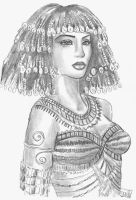 Cleopatra by Forty-Fathoms