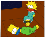 [Coloured] Simpsons kids Kidnapped by Sonickyle27