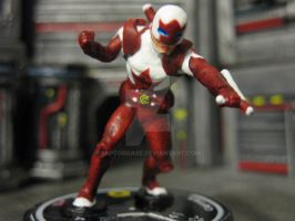 Captain Canuck custom heroclix by RaptorGase