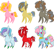Chibipony Adopts by Lots-of-adoptables
