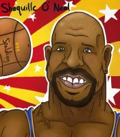 Shaq by StevieWunderz