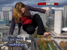 Mega Giantess Vashti Collage by GiantessFantasy