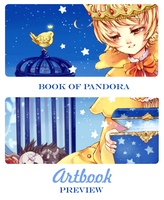 Artbook Preview: Book Of Pandora by Shiranova