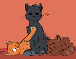 Poweredd Cats by KylerInvention