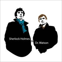 Sherlock Holmes and Dr Watson by Mad42Sam