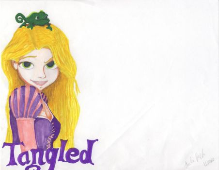 Tangled by eriecat