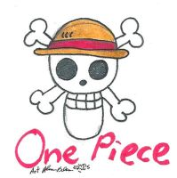 One Piece straw hats by Kittychan2005