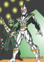 White Dino Thunder by Gonzo1701