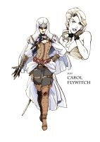 Carol Flywitch -OC of Assassin's Creed- by Zenox-furry-man