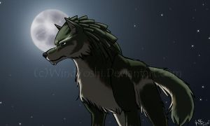 Wolf Link by WindYoshi