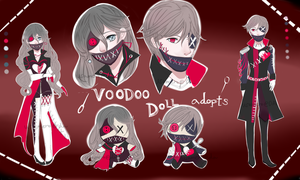 Voodoo Doll Adopts  (CLOSED) by Usa-mero