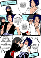 ITACHI IS A CARING BROTHER-- by daevakun
