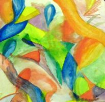 Abstract -painting with the wind 1- by Angeltsuki-Chan