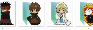 Tsubasa reservoir chronicles Folder Icons by Ginokami6