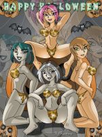 Cave Babes Beauties by XJKenny