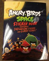 Angry Birds space sticker book by Blackwind06