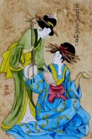 Geishas by theancientofdays