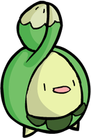 Budew used lick by HappyCrumble
