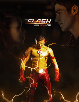 The Flash Season 3 by ehnony