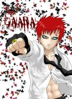 Gaara colored by KitDesertOfFate27