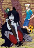 It's Marceline Time! by shaunC